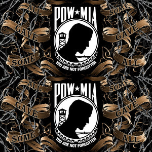 POW MIA Towel-Military Republic
