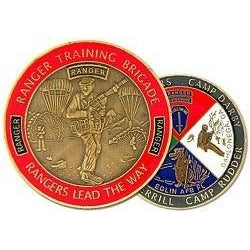 Ranger Training Brigade Challenge Coin (38MM inch)