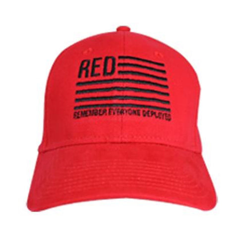 R.E.D. Friday Remember Everyone Deployed Cap