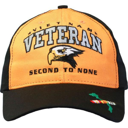 SECOND TO NONE CAP - VIETNAM VET-Military Republic