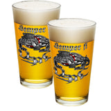 Semper Fi Chrome Pint Glasses-Military Republic