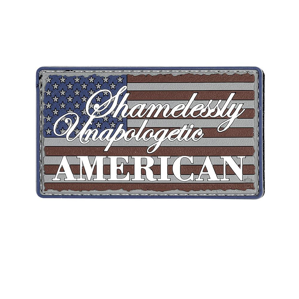 Shamelessly Unapologetic American Patch