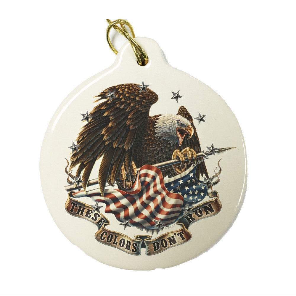 These Colors Don't Run Christmas Ornament-Military Republic