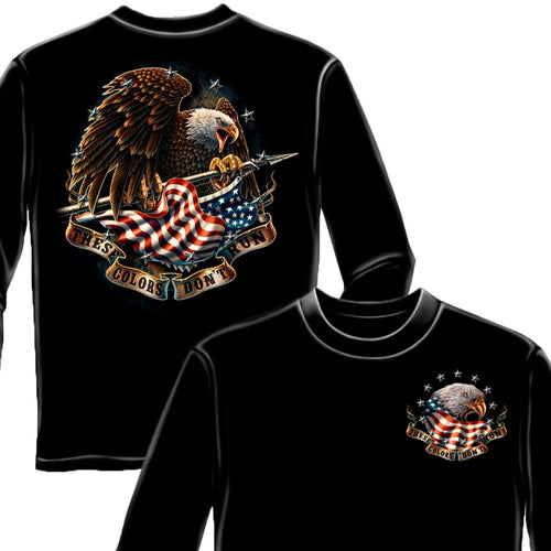 These Colors Don't Run Long Sleeve Shirt-Military Republic