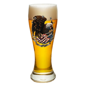 These Colors Don't Run Pilsner Glass Set-Military Republic