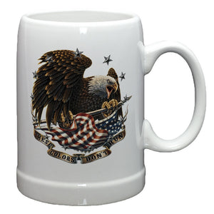 These Colors Don't Run Stoneware Mug Set-Military Republic