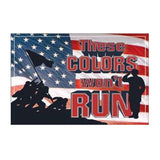 These Colors Won't Run Tin Sign-Military Republic