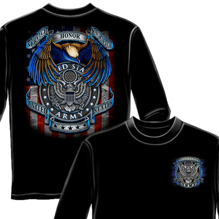 True Heroes Army Long Sleeve Shirt-Military Republic