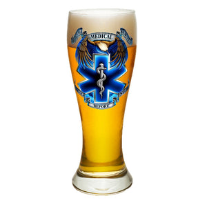 True Heroes EMS Pilsner Glass Set-Military Republic
