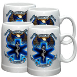 True Heroes EMS Stoneware Mug Set-Military Republic
