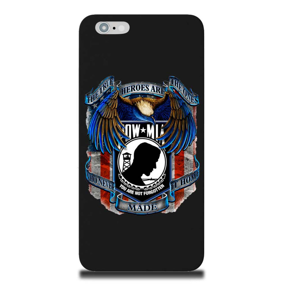 True Heroes POW MIA Phone Case-Military Republic