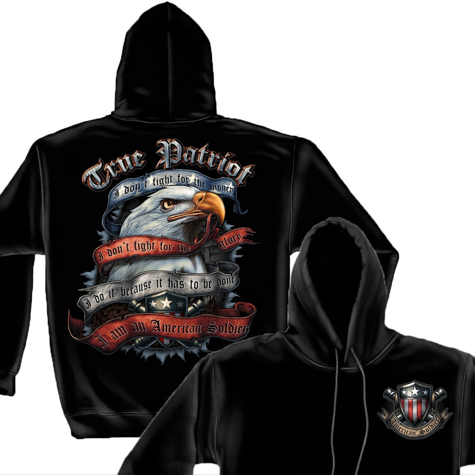True Patriot Hoodie-Military Republic