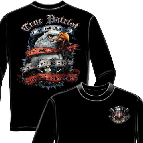 True Patriot Long Sleeve Shirt-Military Republic