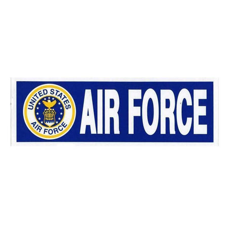 "United States Air Force 3""x9"" Bumper Sticker-Military Republic"