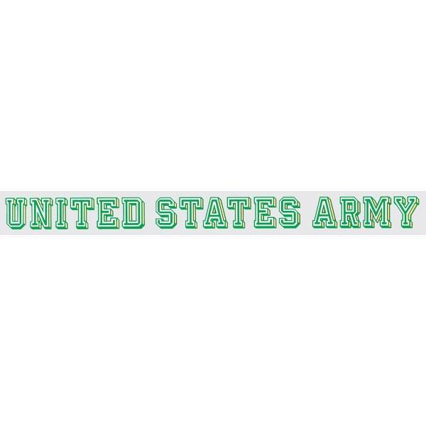 "United States Army 17.5"" x 1.75"" Outside Window Strip"