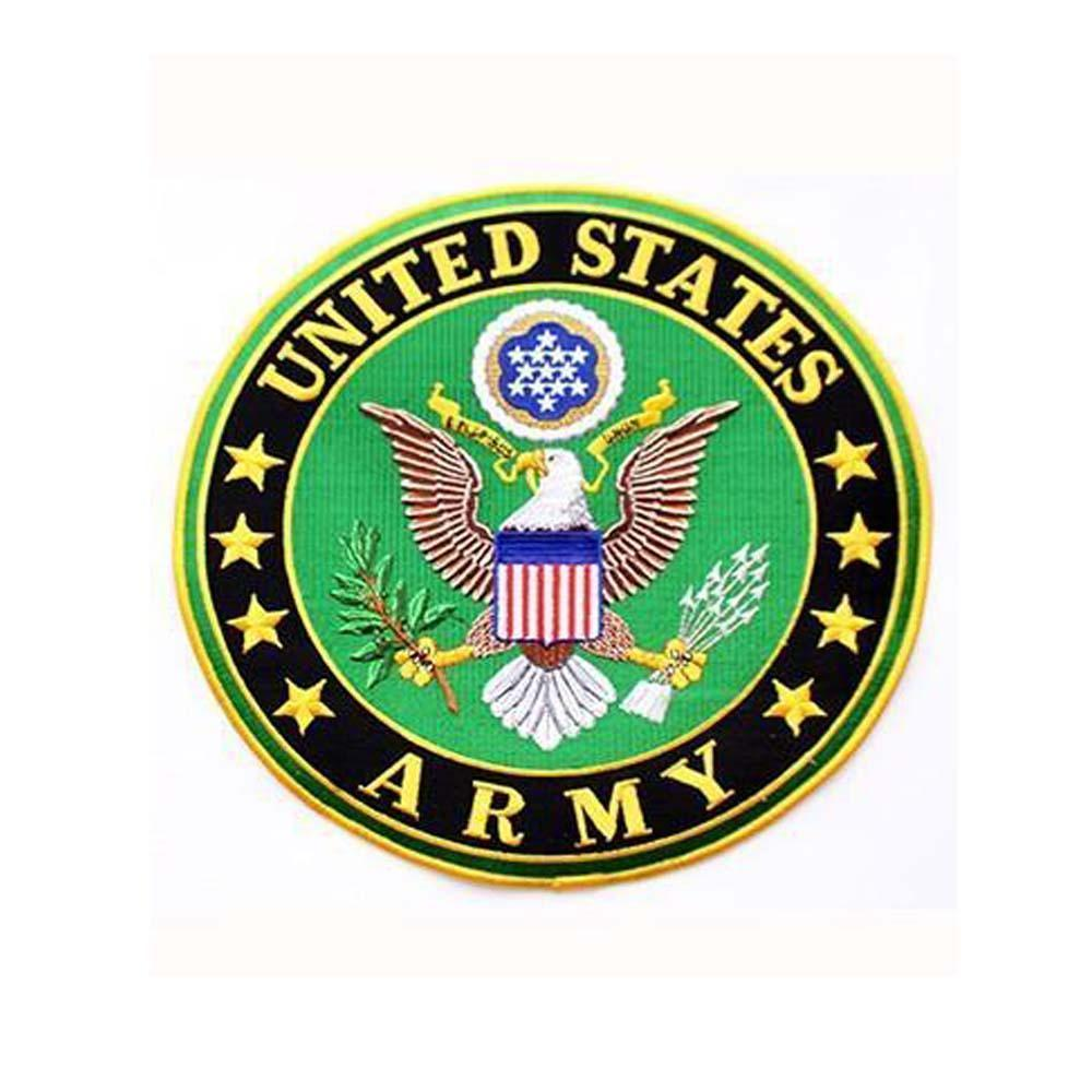 United States Army Insignia Rocker Back Patch-Military Republic