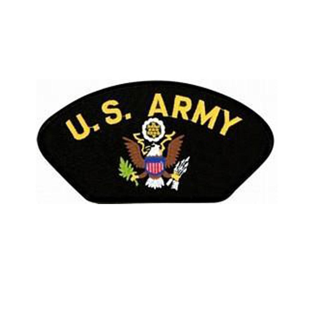 United States Army Insignia Black Patch-Military Republic