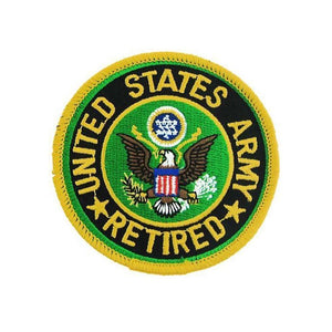 United States Army Retired Small Patch-Military Republic