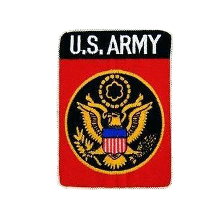 United States Army Small Patch-Military Republic