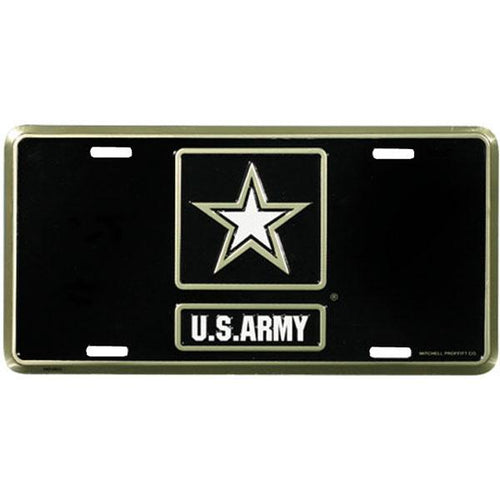 United States Army Star Logo License Plate