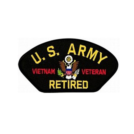 United States Army Vietnam Veteran Retired Patch