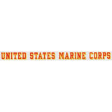 "United States Marine Corps 17.25""x1.5"" Window Strip"