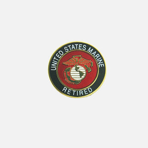 United States Marine Corps Retired Insignia Pin
