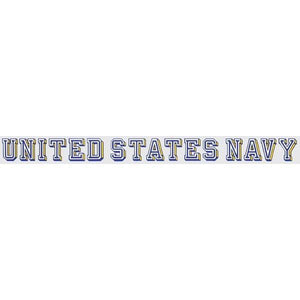"United States Navy 18""x1.75"" Window Strip"