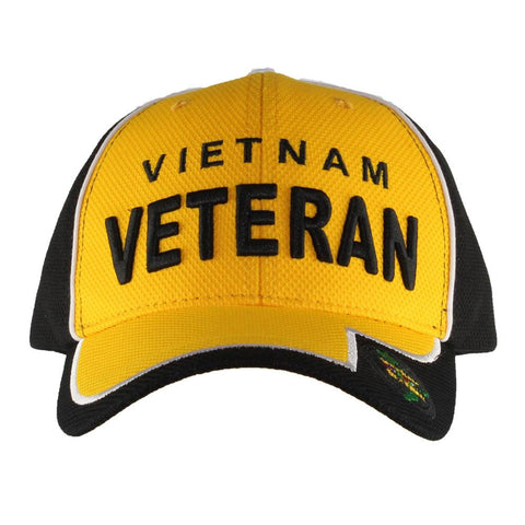 United States Vietnam Veteran Two Tone Performance Cap