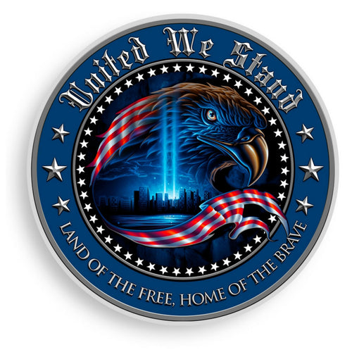 United We Stand Decal-Military Republic