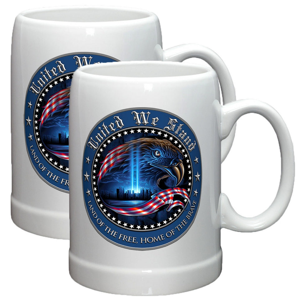 United We Stand Stoneware Mug Set-Military Republic