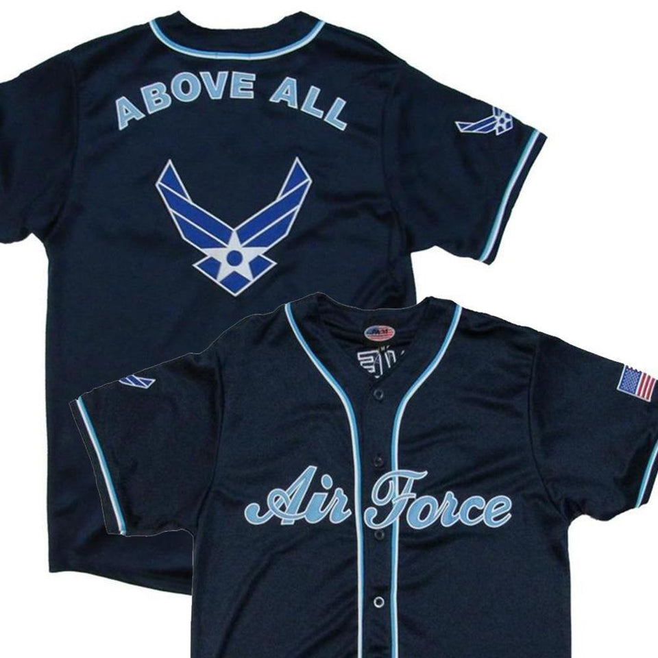 U.S. Air Force Baseball Jersey-Military Republic