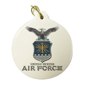 US Air Force Christmas Ornament-Military Republic
