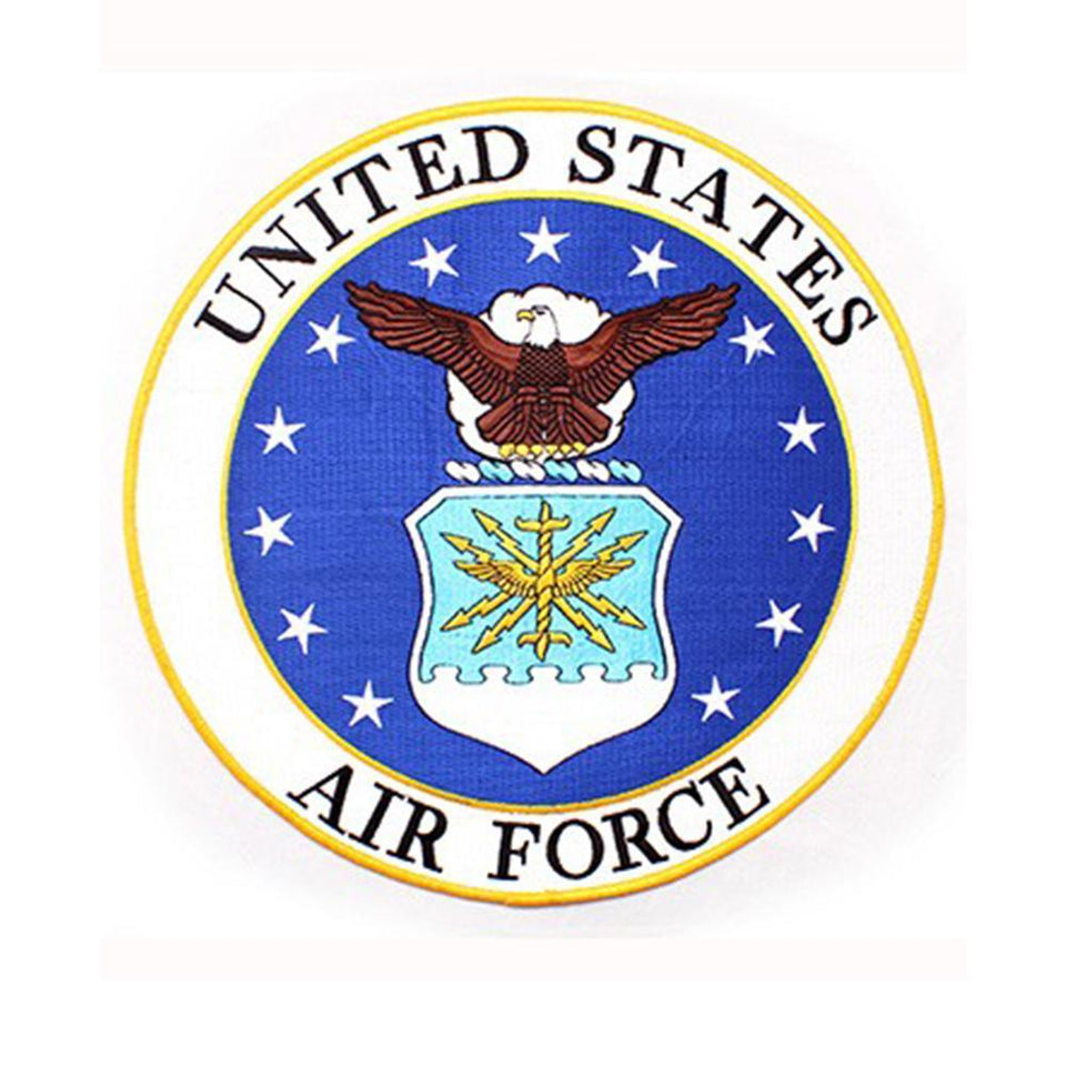 U.S. Air Force Insignia Back Patch  10""