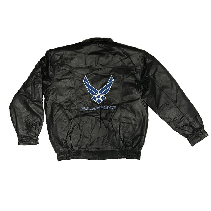 US Air Force Leather Jacket-Military Republic