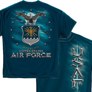 US Air Force Missle T-Shirt-Military Republic