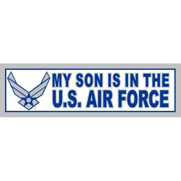 U.S.  Air Force My Son is in the Air Force Bumper Sticker