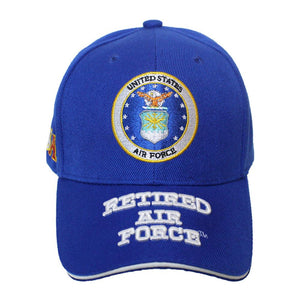 U.S Air Force Retired Full Cap-Military Republic