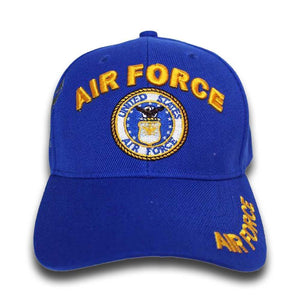 U.S Air Force Shadow Embroidery Cap (ROYAL)-Military Republic