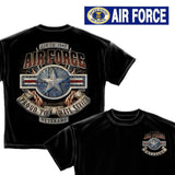 U.S. Air Force T-Shirt and Bumper Sticker set-Military Republic