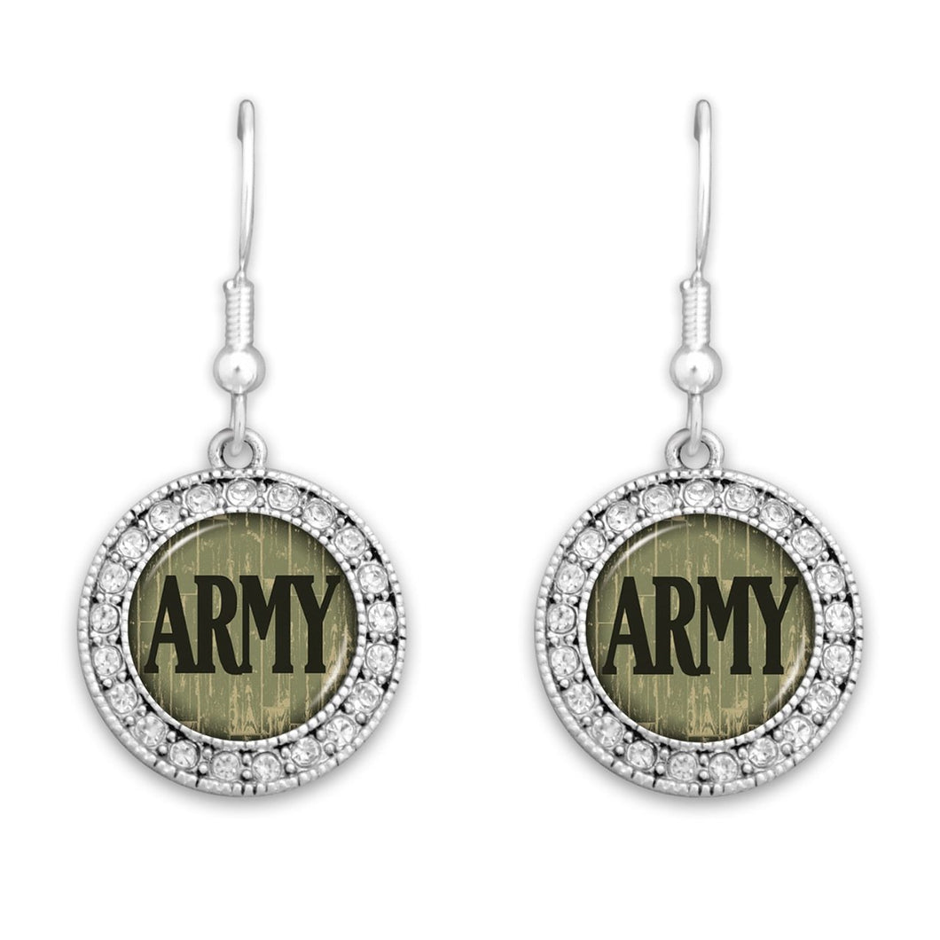 U.S. Army Artisan Earrings