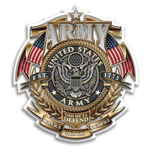 US Army Best Seller Trio Decal Pack