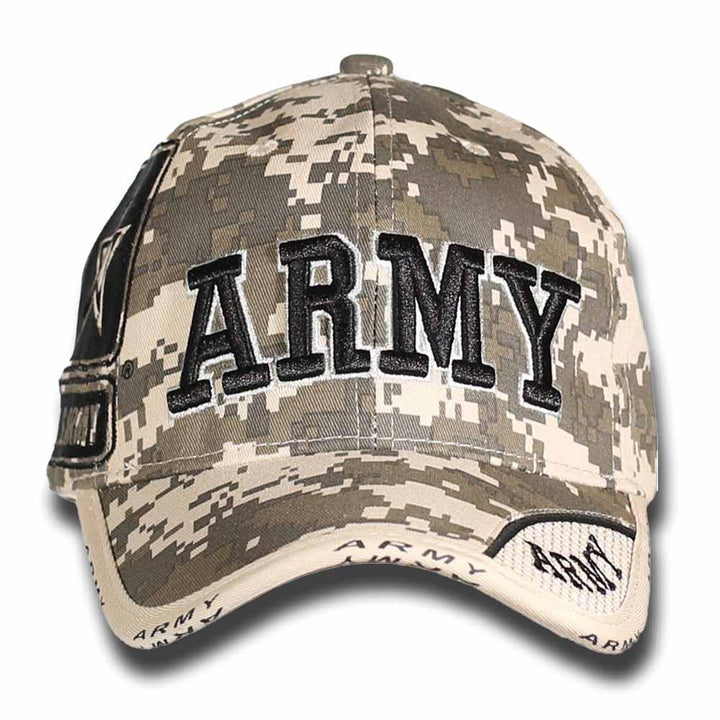 U.S ARMY Camo Cap-Military Republic