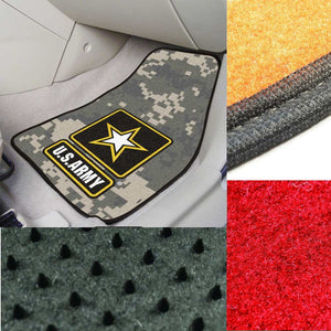 US Army Camo Carpet Car Mats-Military Republic
