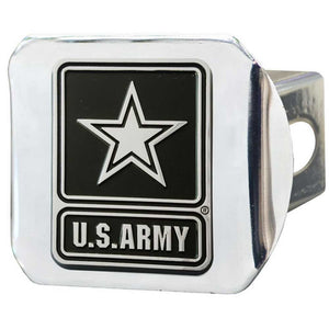 US Army Chrome Hitch Cover-Military Republic