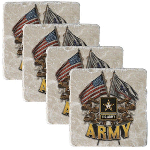 US Army Collectors Set And Free Decal-Military Republic