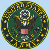 "U.S. Army Crest 4.25""x4.5"" Decal"