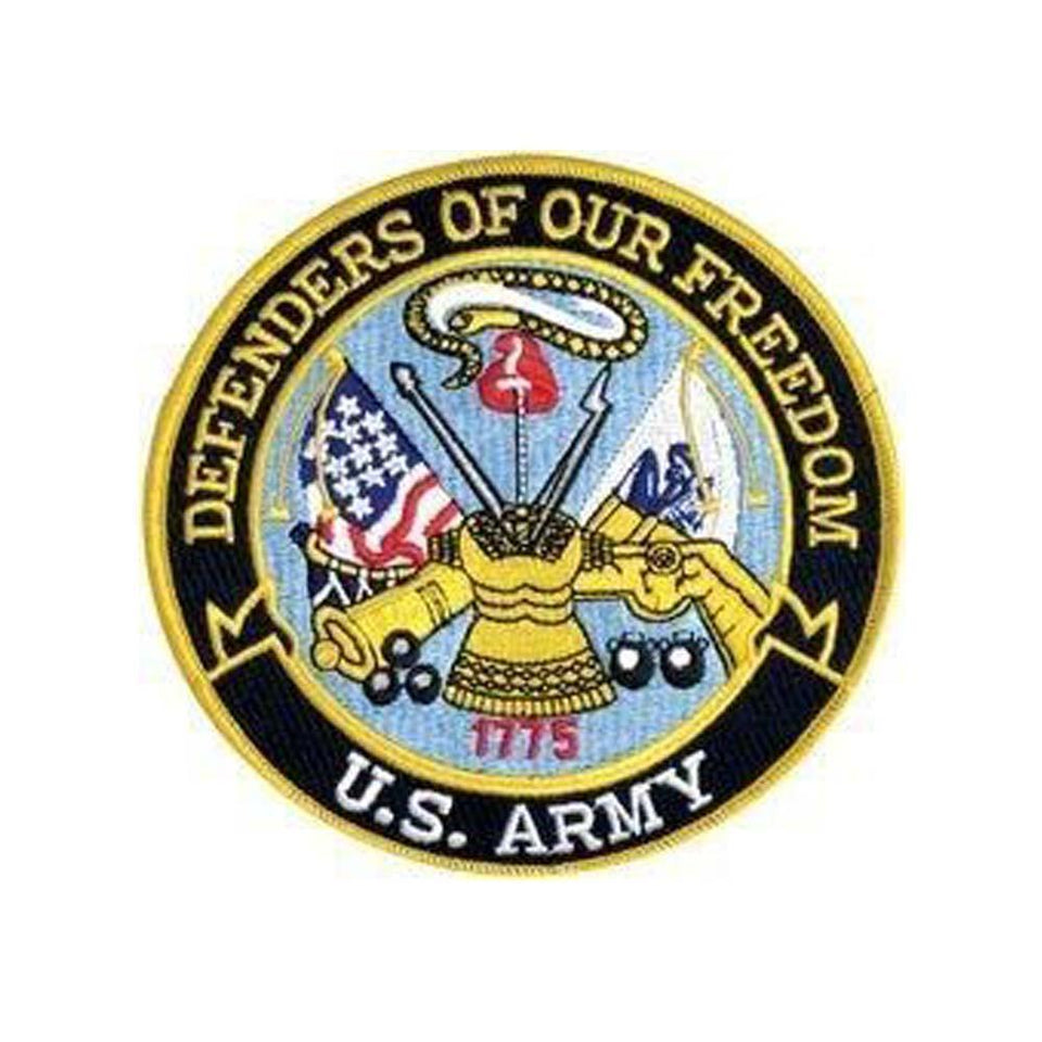 US Army Defenders of Our Freedom Back Patch-Military Republic