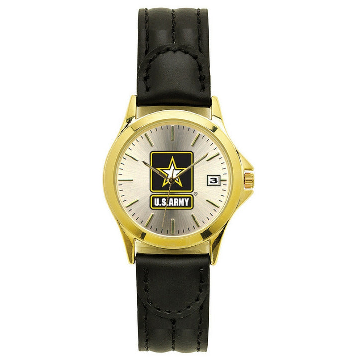 US Army Deluxe Leather Wrist Watch-Military Republic