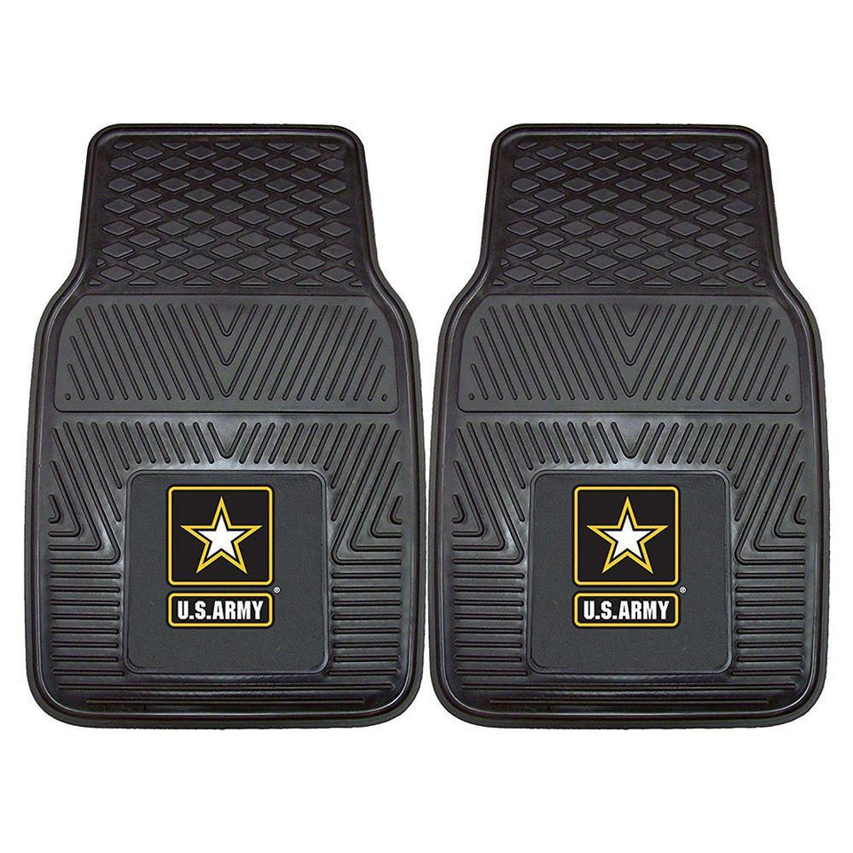 US Army Heavy Duty Vinyl Rear Car Mats-Military Republic
